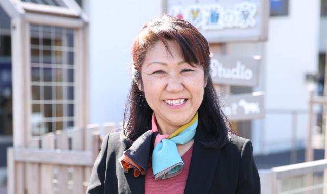 代表挨拶 代表取締役 藤田直子様の写真