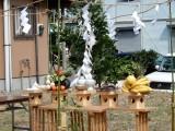 8月の地鎮祭・柱立て式・上棟式・着工式・引き渡し式
